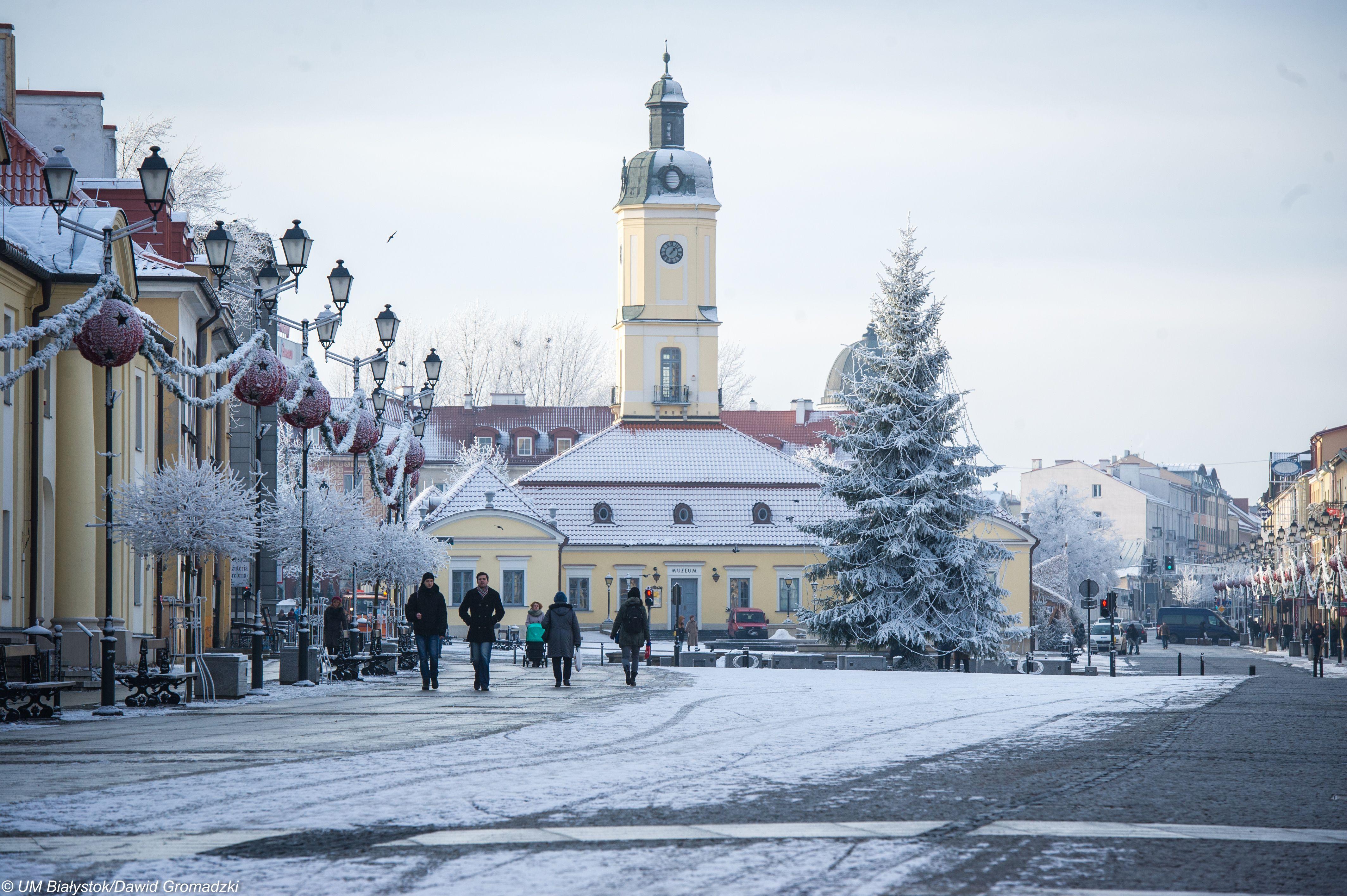 Белосток - краса заповедного края.